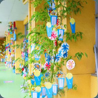 七夕祭りの様子の写真