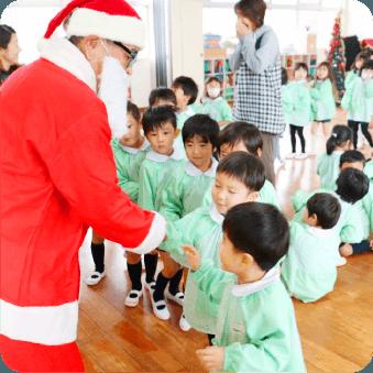 クリスマス会の様子の写真